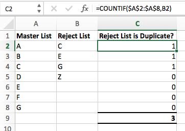 Find duplicate values in Excel
